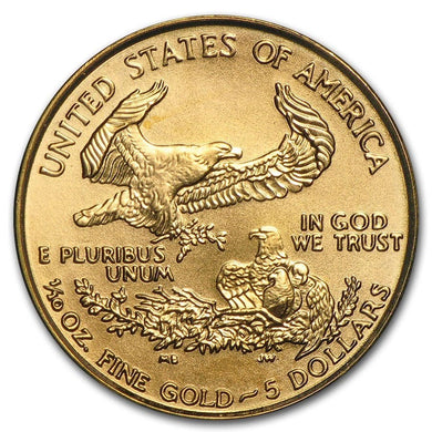 Đồng Gold American Eagle BU 1/10 oz-Bac-nguyen-chat