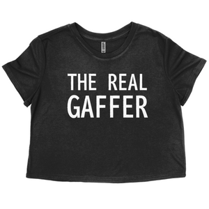 Open image in slideshow, TruChallenge The Real Gaffer Cropped T-Shirt