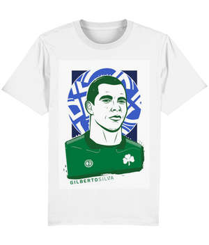 Open image in slideshow, Gilberto Silva GS3 Panathinaikos T-Shirt