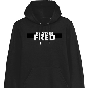 Open image in slideshow, Pastor Fred Black Hoodie
