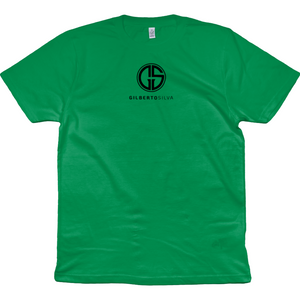 Open image in slideshow, Gilberto Silva Classic Logo Green T-Shirt