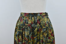 Load image into Gallery viewer, 1980's | Bleu Blanc Rouge | Autumnal Floral Maxi Skirt