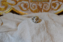 Load image into Gallery viewer, Vintage Sterling Silver Domed Sculptural Ring