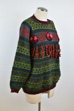 Load image into Gallery viewer, 1980's | Bleu Blanc Rouge | 3D Sweater
