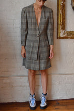 Load image into Gallery viewer, 1990's | Krizia | Plaid Jacket and Skirt Set