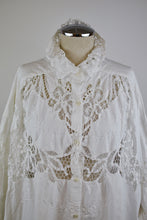 Load image into Gallery viewer, 1990's | Judy Hornby | Oversized Lace Top