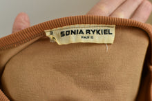"Load image into Gallery viewer, 1990's | Sonia Rykiel | Velour ""Great Classic"" Dress"