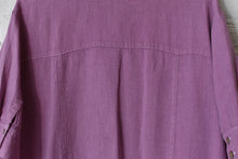 Load image into Gallery viewer, 1980's | Saks Fifth Avenue | Oversized Lavender Linen Dress