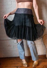 Load image into Gallery viewer, Y2K | Louis Vuitton | Tulle Skirt with Cotton Band