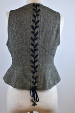 Load image into Gallery viewer, 1990's | Bazaar Christian Lacroix | Tweed Vest with Laced Back