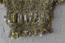 Load image into Gallery viewer, Y2K| Issey Miyake Heart HaaT | Metallic Crochet Shrug
