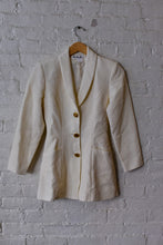 Load image into Gallery viewer, 1990's | Chantal Thomass | Quilted Cream Jacket