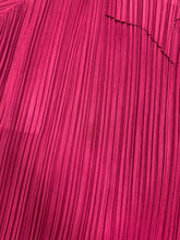 Load image into Gallery viewer, Issey Miyake Pleats Please | Magenta Top and Skirt Set