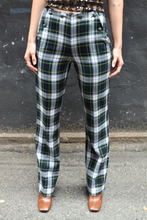 Load image into Gallery viewer, 1990's | Anna Sui | Plaid Pants with Sailor Button Front