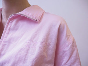 1990's | Courreges Sport | Pink Windbreaker