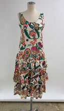Load image into Gallery viewer, 1990's | Adrienne Vittadini Petites | Silk Floral Dress