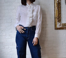 Load image into Gallery viewer, Vintage | Comme Des Garçons | Ruffle Front Blouse