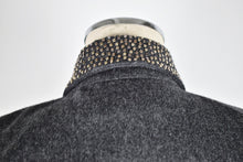 Load image into Gallery viewer, 1990's | Claude Montana | Wool Dress with Silver Studs