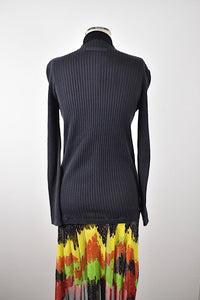 1990's | Jean Paul Gaultier | Mesh Dress with Attached Sweater