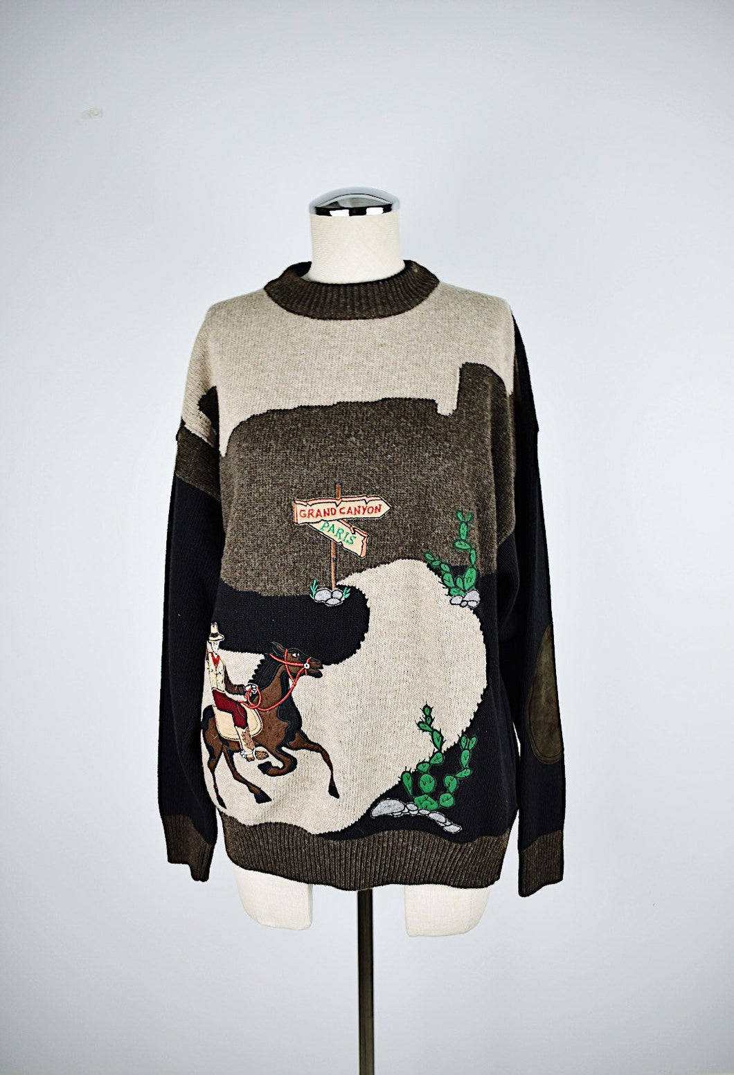 1990's | JC Castelbajac | Novelty Sweater
