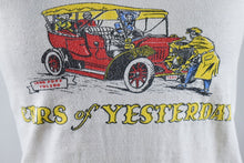 Load image into Gallery viewer, 1950's | Souvenir T-Shirt Sarasota Florida | Cars of Yesterday