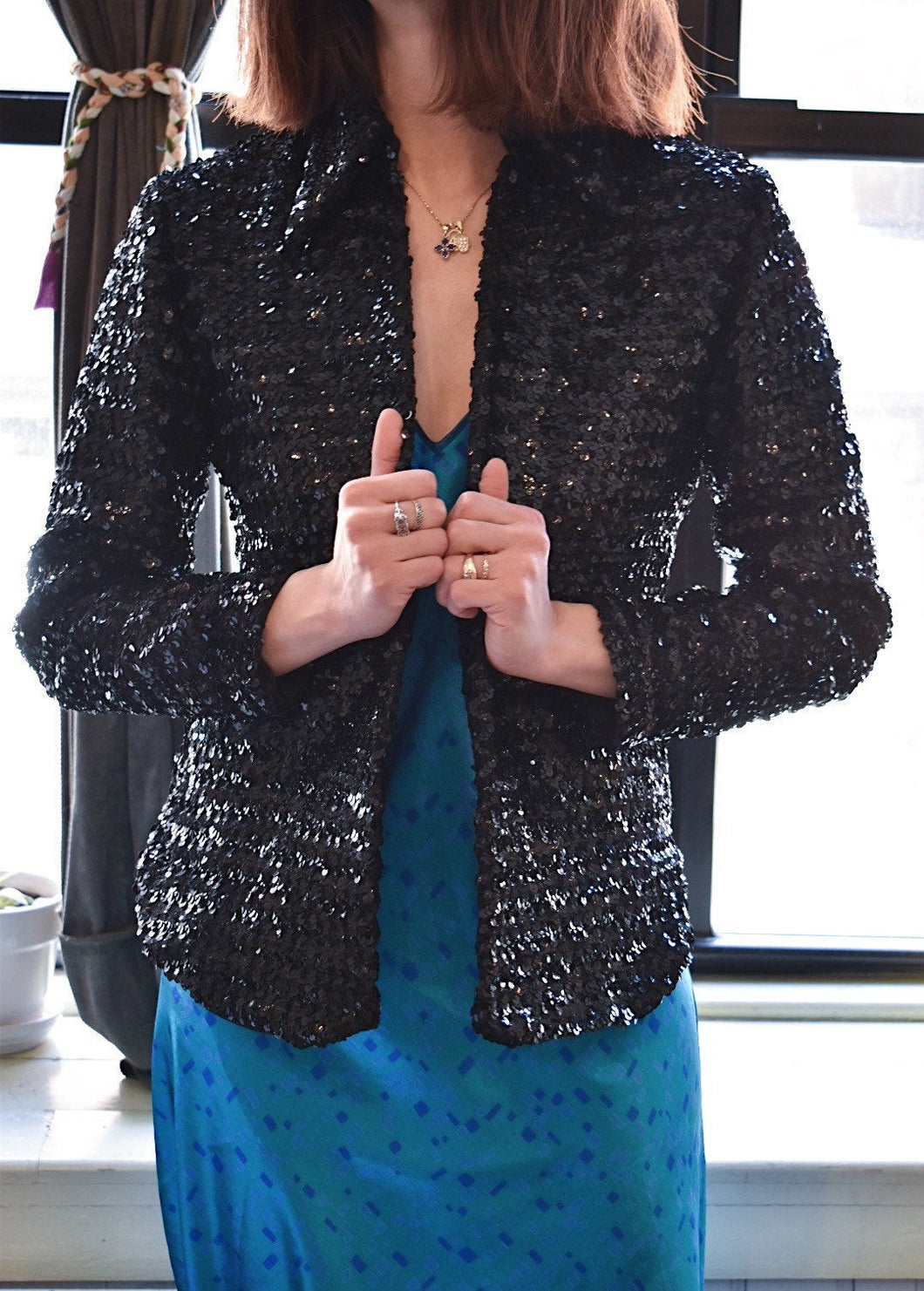 1960's | Beverly Paige | Sequin Jacket