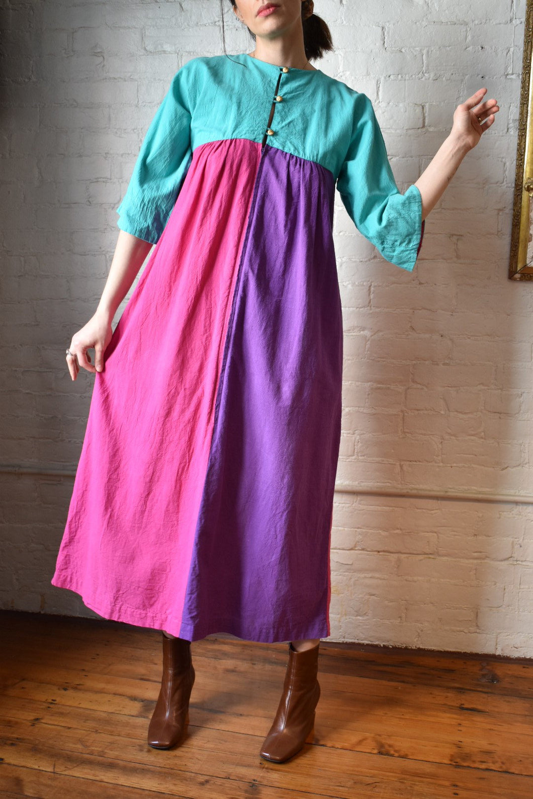 1970's | Colorful Maxi Dress