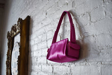 Load image into Gallery viewer, Y2K | Christian Lacroix | Fuchsia Satin Handbag