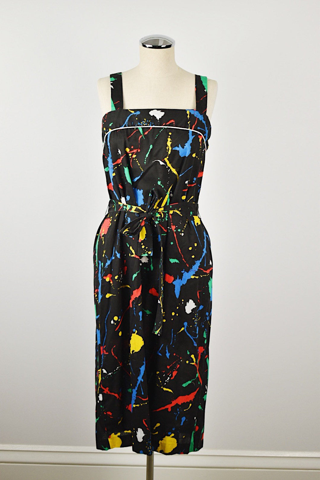 1970's | 1980's | Paint Splatter Sundress
