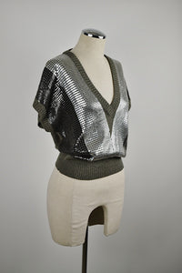 1980's | 1990's | Krizia | Lightweight Sequined Sweater