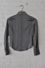 Load image into Gallery viewer, 1990's | Michel Klein | Op Art Button Down
