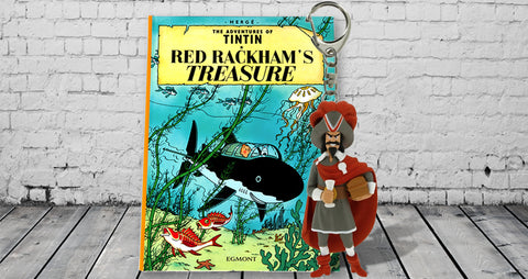 Red Rackham's Treasure - The Shark Submarine.