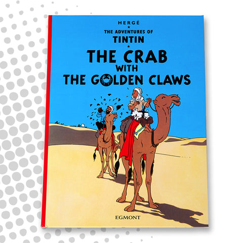 Tintin - The Crab with the Golden Claws - English Hardback book