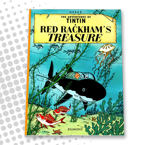 Tintin - Red Rackham's Treasure book