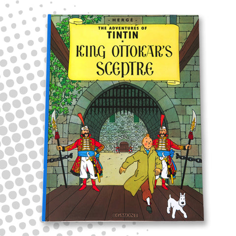 Tintin - King Ottokar's Sceptre - English Hardback book
