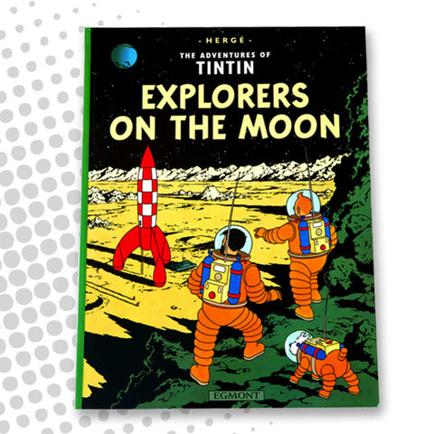Explorers on the Moon book