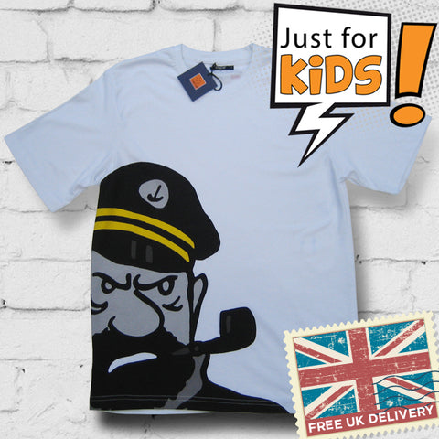Tintin children's t-shirt range - Captain Haddock