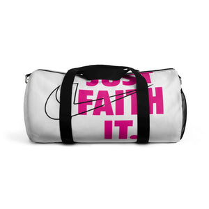 Just Faith It Duffel Bag - Crossover Threads