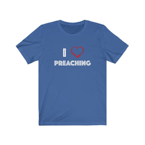 I Love Preaching T-shirt - Crossover Threads