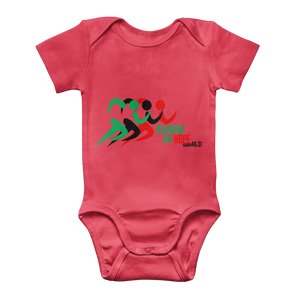 Running On Hope Baby Onesie - Crossover Threads