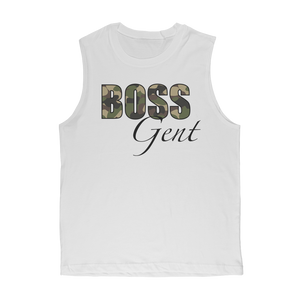 Boss Gent Adult Muscle Top - Crossover Threads