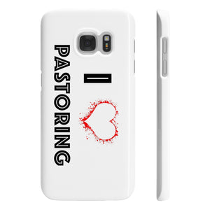 I Love Pastoring Slim Phone Cases - Crossover Threads