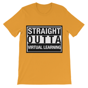 STRAIGHT OUTTA VIRTUAL Kids T-Shirt - Crossover Threads