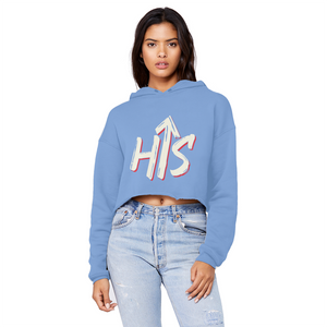 HIS Cropped Raw Edge Hoodie - Crossover Threads