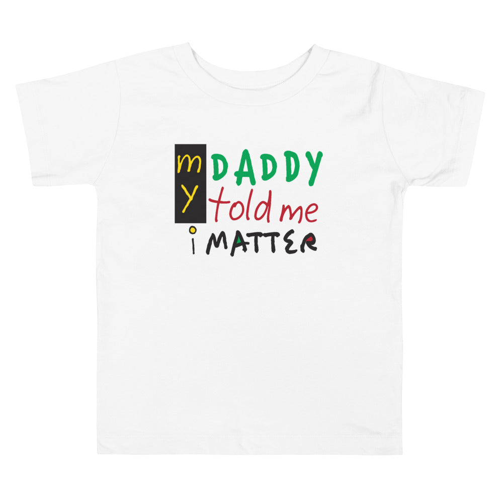 iMatter Toddler Short Sleeve Tee - Crossover Threads