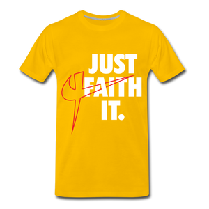Just Faith It T-Shirt - Crossover Threads