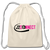 J2 Connect Cotton Drawstring Bag - Crossover Threads