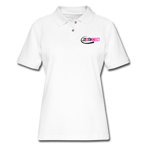 J2 Connect Women's Pique Polo Shirt - Crossover Threads