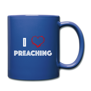 I Love Preaching Full Color Mug - Crossover Threads