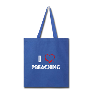 I Love Preaching Tote Bag - Crossover Threads